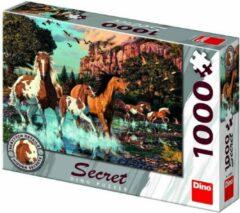 Dino Toys Puzzel met geheimen Paarden: 1000 stukjes