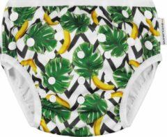 Groene Supercute Baby zwemluier Banaantjes