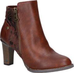 Bruine Boots en enkellaarsjes Nathael by Mustang shoes