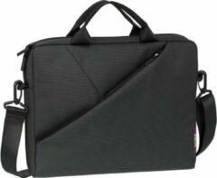Zwarte Riva Case RivaCase 8730 grey Laptop bag 15,6 inch