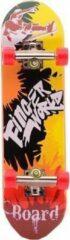 Johntoy Vinger Skateboard Geel/rood 7-delig 9 Cm