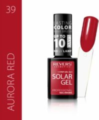 Rode REVERS® 3in1 Solar Gel Nagellak 12ml. - #39 Aurora Red