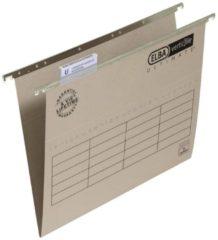 ELBA Hangmappen Ultimate Folio Grijs Karton V-bodem 23 5 x 36 5 cm 25 Stuks