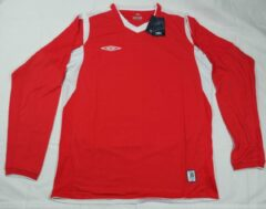 Rode Umbro England away jersey shirt M