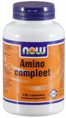 Now Voedingssupplementen amino compleet 120cap