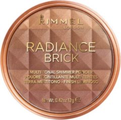 Bruine Rimmel London Radiance Brick Multifunctional Shimmer Powder - 003 Dark