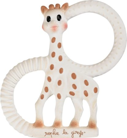 Afbeelding van Huidskleurige Sophie la Girafe So Pure Teething Ring - Soft