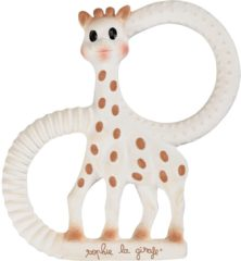 Huidskleurige Sophie la Girafe So Pure Teething Ring - Soft