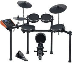 Zwarte Medeli elektronische drum kit all dual zone with mesh heads 10S-8-8-10-8K