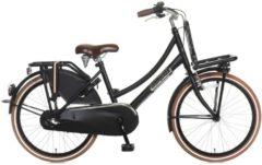Popal 22 ZOLL HOLLAND FAHRRAD 3 GANG DAILY DUTCH BASIC+ TR22N3 Junior Bike Kinder schwarz