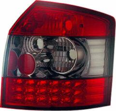 Universeel Set LED Achterlichten Audi A4 B6 Avant 2001-2004 - Rood/Smoke