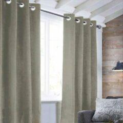 Anders Sueden gordijn 100% polyester - Taupe - 140x250 cm