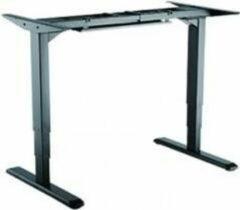 Zwarte Equip 650805 ERGO Electric Sit-Stand Desk Frame [Dual Motors, Black]