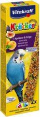 Vitakraft Fruitkracker 2 in 1 Parkiet - vogelsnacks - Snacks - 60gram