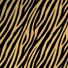 Studio Stationery Cadeaupapier Zebra zwart/goud