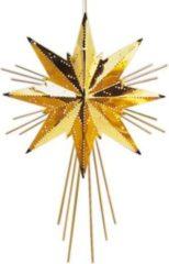 Messingstern Mini Luxeca gold Best Season Brass