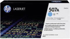 HP 507A CE401A Tonercassette Cyaan 6000 bladzijden Origineel Tonercassette