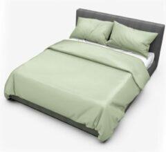 Dream Sheets Dekbedovertrek - Tweepersoons - 200x200/220cm – Katoen - Groen