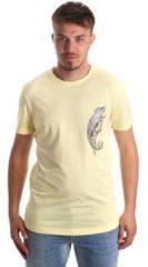 Gele T-shirt Korte Mouw Antony Morato MMKS01516 FA100144
