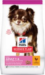 Hill's Canine Adult Light Small & Mini - Hondenvoer - Kip 1.5 kg