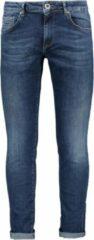 Zwarte Cars Jeans Heren BATES DENIM Skinny Fit DARK USED - Maat 27/32