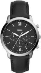 Zwarte Fossil heren horloge Neutra Chrono FS5452 FS5452