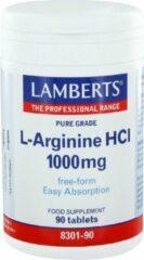 Lamberts L Arginine 1000mg / l8301-90 Tabletten