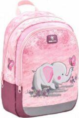 Belmil rugzak met olifant junior 12 liter polyester roze