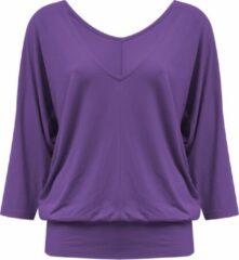 "Paarse Yoga-longshirt ""Saravati"" - purple XS Loungewear shirt YOGISTAR"