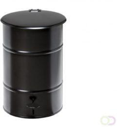Kongamek Staalverzinkte Vuilnisbak 30 Liter zwart