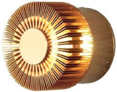 Konstsmide Monza Small 7900-800 Buiten LED-wandlamp Energielabel: LED (A++ - E) 3 W Warm-wit Brons