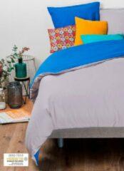 KADOLIS Dekbedovertrek Adult 260x240cm + 2 kussenslopen Bicolor / omkeerbaar Grijs 240x260cm
