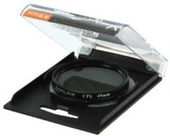 Zwarte CamLink CL-49CPL cameralensfilter 4,9 cm Circular polarising camera filter