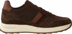 Mazzeltov Heren Lage sneakers 10445 - Cognac - Maat 44