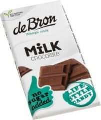 De Bron Suikervrije Tablet Milk Chocolate