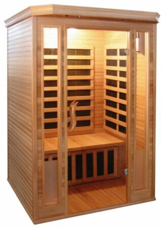 Afbeelding van Rode Sanotechnik Infrarood Sauna Komfort 125x120 cm 1850W 2 Persoons