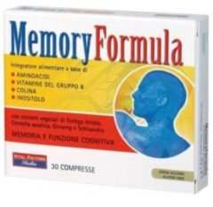 Vital factors italia MEMORY FORMULA 30 COMPRESSE VITAL FACTORS