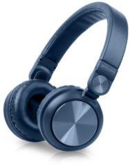 Muse M-276BTB Bluetooth Retro Hoofdtelefoon Blauw - Muse M-276BTB Bluetooth Retro Hoofdtelefoon Blauw