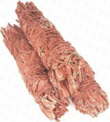 FineGoods Dragons Blood smudge - smudge stick - 1 stuk - 10cm - meditatie - yoga - huis reiniging - zuivering