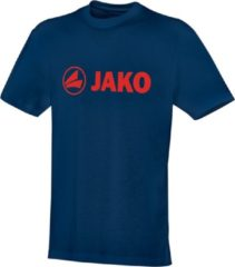 Jako - T-Shirt Promo - nachtblauw/flame - Maat S
