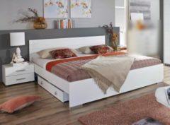 Rauch-PACKs Bett alpinweiss 180 x 200 cm mit Nakos und Bettkasten RAUCH PACKS Lorca