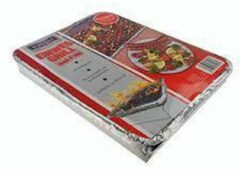 Zilveren Kynast Exklusiv 2 x Wegwerp barbecues - BBQ grill - Instant grill - houtskoolbarbeque