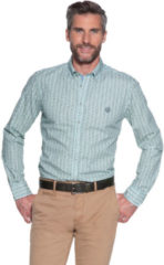 Groene Campbell Casual overhemd met lange mouwen