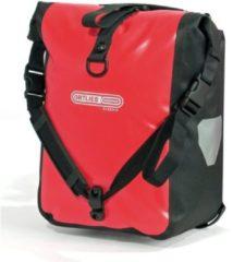 Rode Ortlieb Dubbele fietstas - Front Roller Classic - F6302 - 25 L - Rood/Zwart