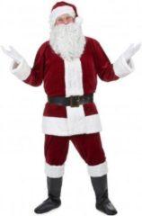 Rode B&W Filter WELLY INTERNATIONAL - Super deluxe kerstman kostuum voor volwassenen - XL - Volwassenen kostuums