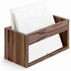 Zomo VS-Box 1/45 Zebrano kast voor vinyl