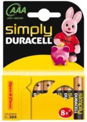 Duracell CopperTop MN2400 - Batterie 8 x AAA Alkalisch 002463