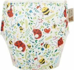 HappyBear - Zwemluier Lieveheersbeestjes   0-3 jaar - Wasbaar - Onesize