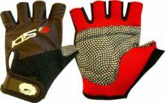 Sidi - Fietshandschoenen Zomer - Zwart/Rood - Maat L