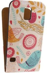 Mobilize Ultra Slim Flip Case Samsung Galaxy S5/S5 Plus/S5 Neo Birds